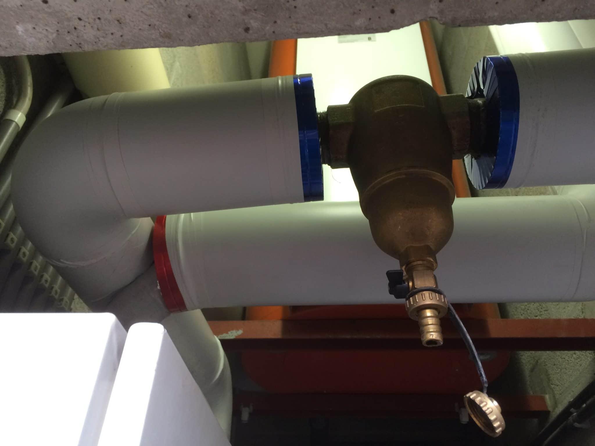 Isolation de tuyaux à l'aide de coquilles